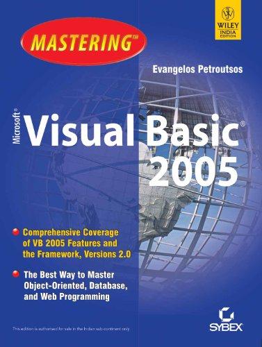9788126507276: MASTERING MICROSOFT VISUAL BASIC 2005
