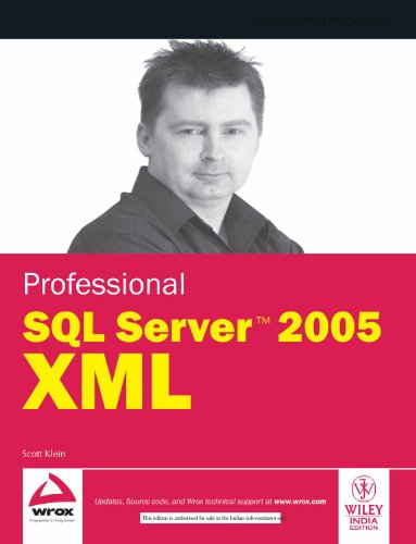 9788126507320: PROFESSIONAL SQL SERVER 2005 XML