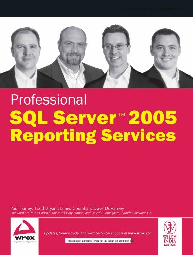 9788126507627: Professional Sql Server 2005 Reporting Services