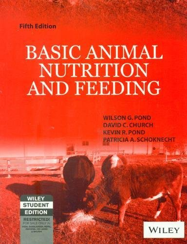 9788126507641: Basic Animal Nutrition and Feeding