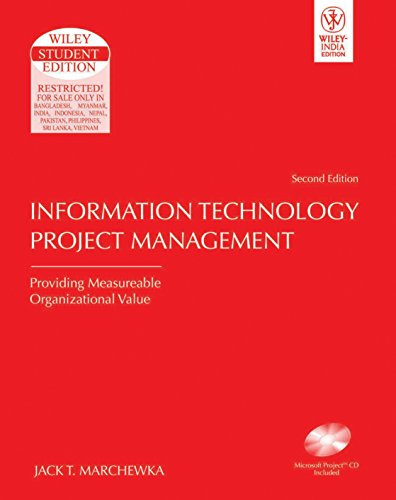 9788126508044: Information Technology Project Management