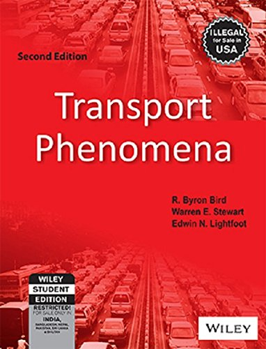 Transport Phenomena 1960 HC Book by Bird, Stewart, Lightfoot/ John Wiley Publis.