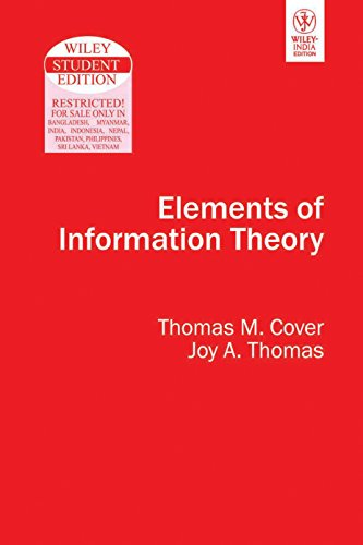 9788126508143: Elements of Information Theory