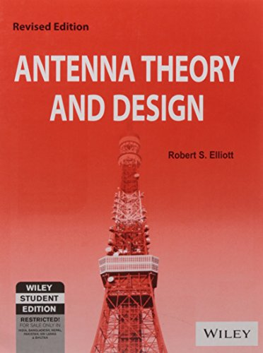 9788126508198: Antenna Theory And Design, Revised Ed