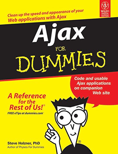9788126508549: Ajax For Dummies (exclusive- Goel Computer Hut)