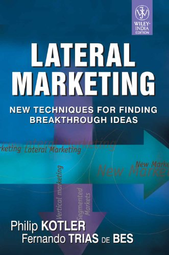 9788126508587: LATERAL MARKETING: NEW TECHNIQUES FOR FINDING BREAKTHROUGH IDEAS