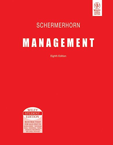 Management, 8Th Ed: Schermerhorn