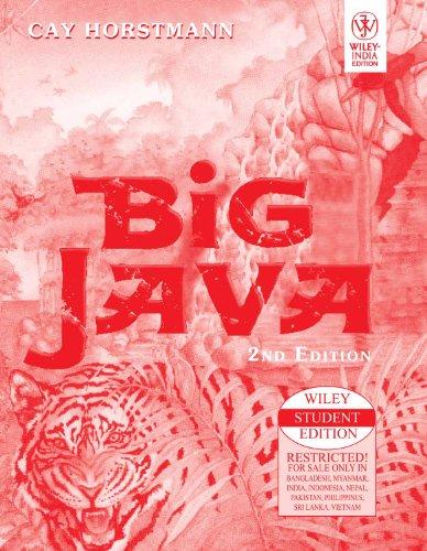 9788126508792: Big Java