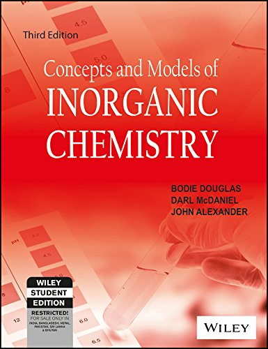 Concepts and Models of Inorganic Chemistry: Bodie E Douglas