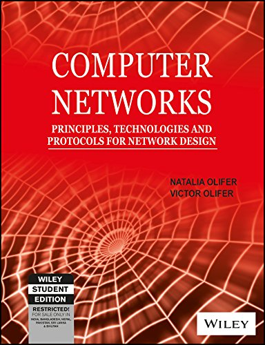 9788126509171: Computer Networks: Principles, Technologies and Protocols for Network Design