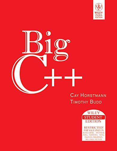 9788126509201: Big C++