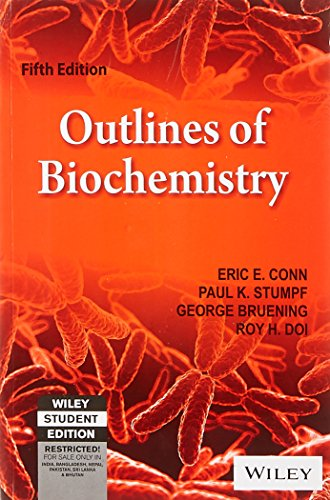 9788126509300: Outlines Of Biochemistry, 5Th Ed