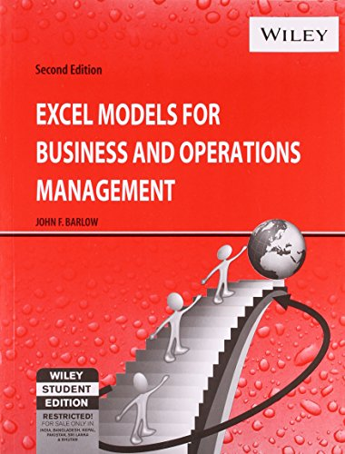 9788126509515: Excel Models for Business and Operations Management