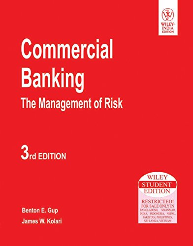9788126510443: Commercial Banking: The Management of Risk