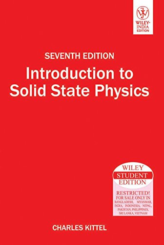 9788126510450: Introduction to Solid State Physics