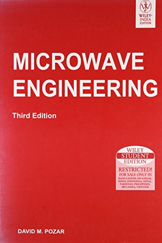 9788126510498: Microwave Engineering, 3Rd Ed