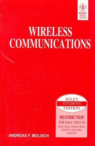 9788126510566: WIRELESS COMMUNICATIONS