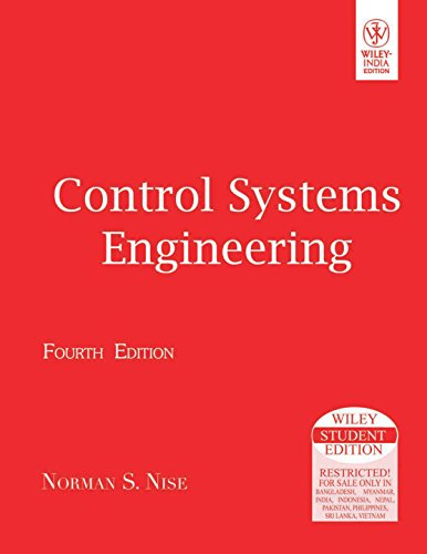 9788126510979: Control Systems Engineering (International Edition) Edition: Fourth