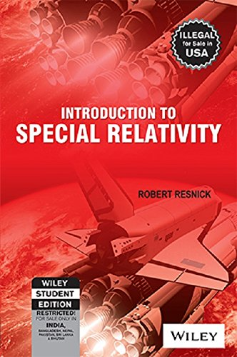 Introduction to Special Relativity: Robert Resnick