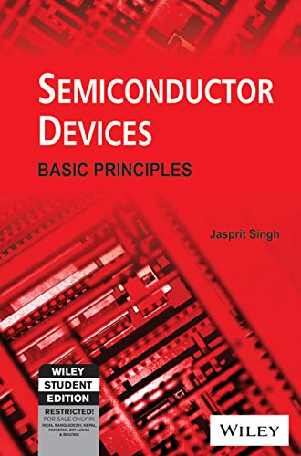 9788126511020: Semiconductor Devices: Basic Principles (Wiley Student Edition)