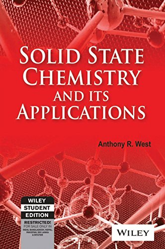 9788126511075: SOLID STATE CHEMISTRY AND ITS APPLICATIONS