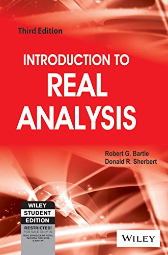 9788126511099: Introduction To Real Analysis, 3Rd Ed