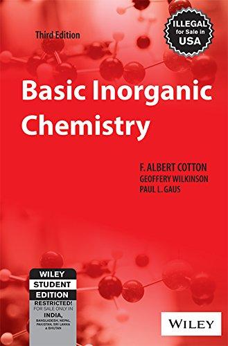 9788126511143: Basic Inorganic Chemistry