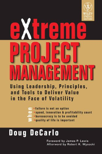 9788126511518: EXTREME PROJECT MANAGEMENT USING LEADER [Paperback]
