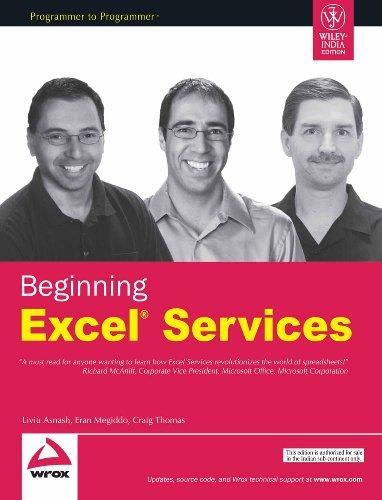 9788126512058: Beginning Excel Services