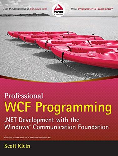 9788126512249: Professional Wcf Programming