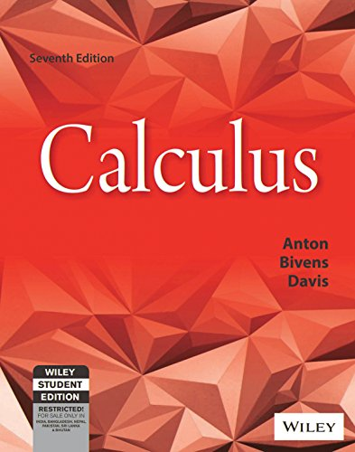 Calculus: Anton, Bivens and