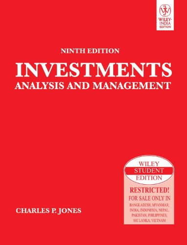 9788126512645: Investments: Analysis and Management, 9ed