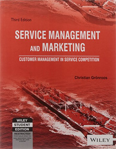 9788126512874: Service Management and Marketing: Customer Management in Service Competition