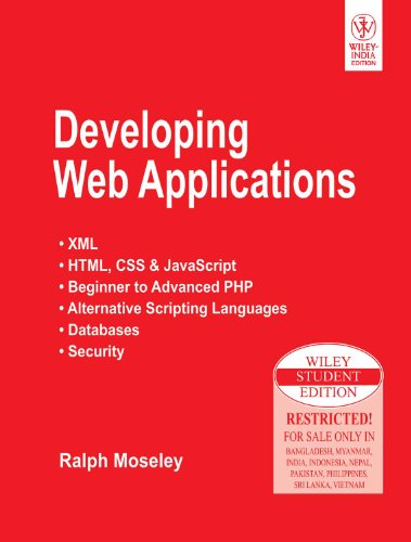 9788126512881: Developing Web Applications