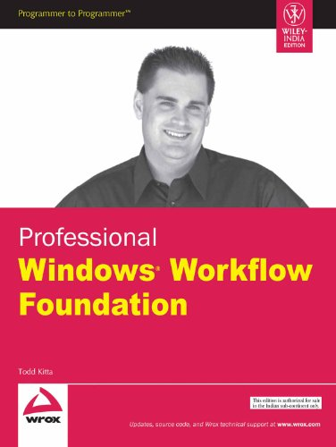9788126512980: Professional Windows Workflow Foundation