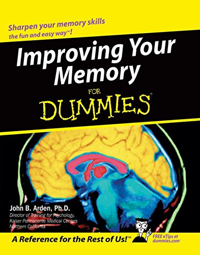 9788126514052: Improving Your Memory For Dummies