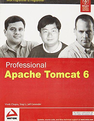 9788126514090: Professional Apache Tomcat 6