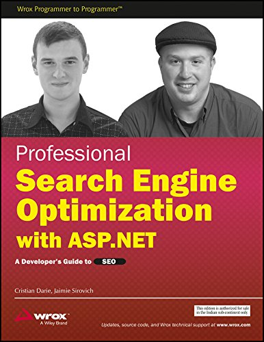 9788126514441: Professional Search Engine Optimization with ASP.NET: A Developer's Guide to SEO