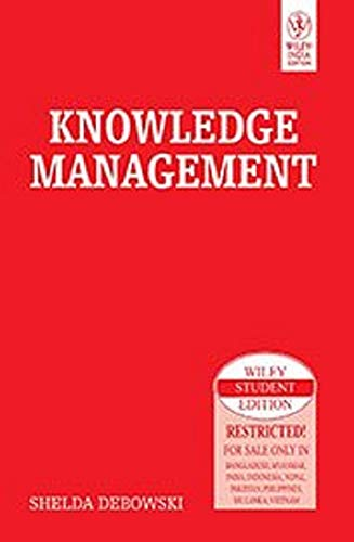 9788126514502: KNOWLEDGE MANAGEMENT (WILEY STUDENT EDITION)