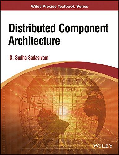 Distributed Component Architecture: G. Sudha Sadasivam