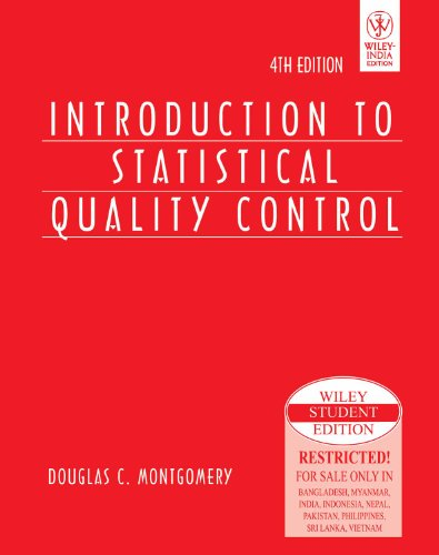 9788126514717: Introduction to Statistical Quality Control