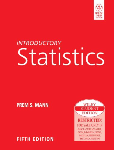 9788126514847: Introductory Statistics