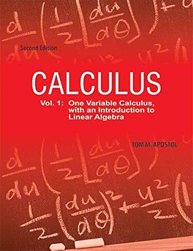 Download Calculus- Vol.1