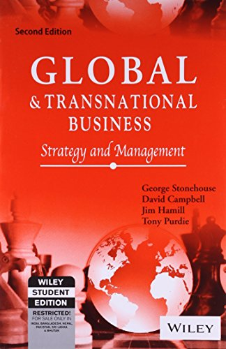 9788126515233: Global and Transnational Business: Strategy and Management