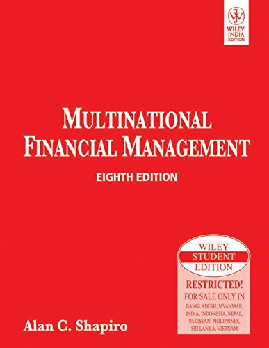 9788126516056: Multinational Financial Management, 8Th Ed
