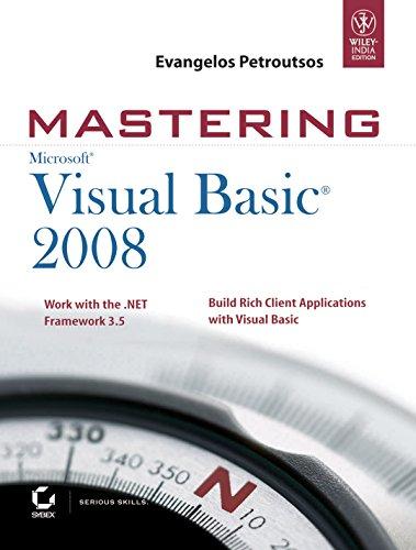 9788126516216: Mastering Microsoft Visual Basic 2008