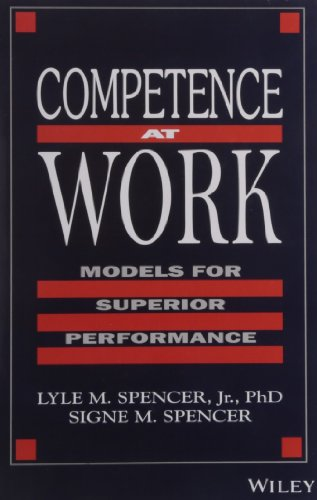 9788126516339: Competence at Work: Models for Superior Performance|Models for Superior Performance