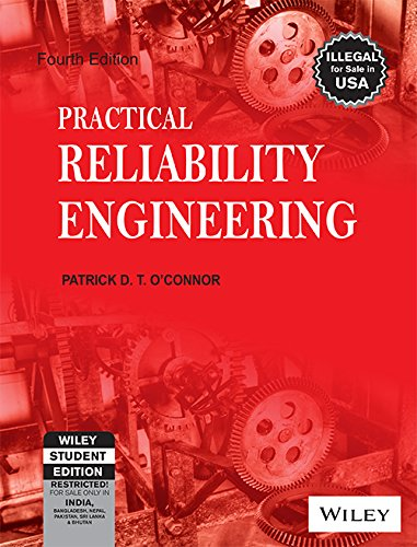 9788126516421: Practical Reliability Engineering, 4Th Ed