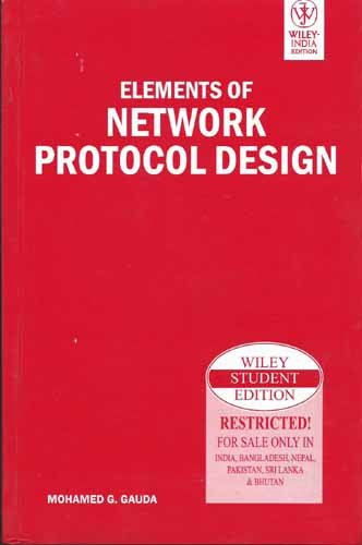 9788126516476: Elements of Network Protocol Design