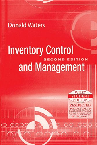 9788126516483: Inventory Control and Management, 2ed